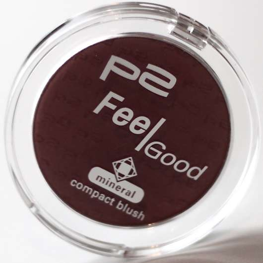 p2 Feel Good mineral compact blush, Farbe: 031 dreamy berry