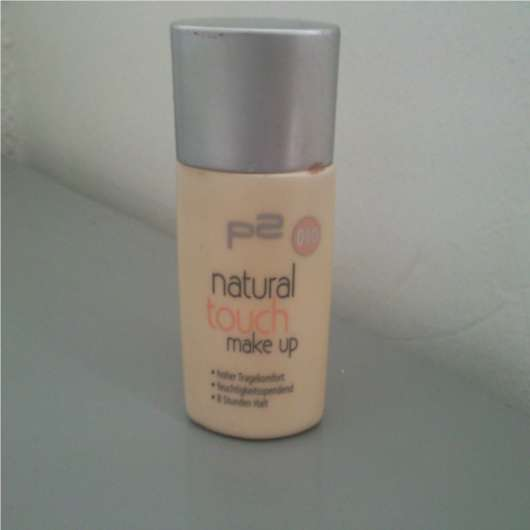 p2 natural touch make up, Nuance: 010 natural nude