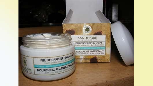 Sanoflore Aufbauende Honig-Creme (für trockene & empfindliche Haut)