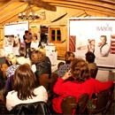 Top Face Designer Peter Schmidinger beim BABOR Kosmetik-Institut in Backnang