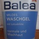 Balea Mildes Waschgel mit Lotusblüte für normale und Mischhaut