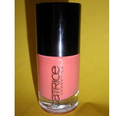 test nagellack catrice ultimate nail lacquer farbe 170 i scream peach testbericht von. Black Bedroom Furniture Sets. Home Design Ideas