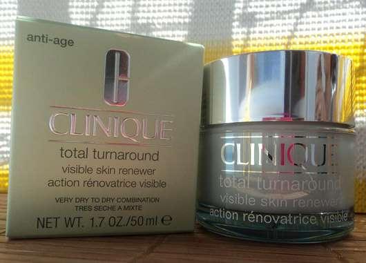 Clinique Total Turnaround Visible Skin Renewer (für sehr trockene bis trockene Mischhaut)