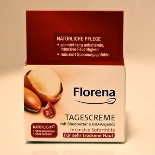 Florena Tagescreme mit Sheabutter & BIO-Arganöl (für sehr trockene Haut)