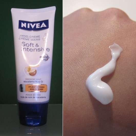 Nivea Soft & Intensive Hand Creme (für trockene Haut)