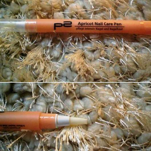 p2 Apricot Nail Care Pen Nagelpflegestift