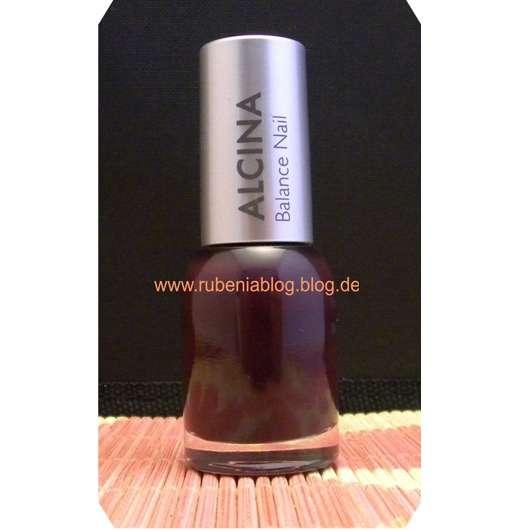 Alcina Balance Nail Nagellack, Farbe: blackberry