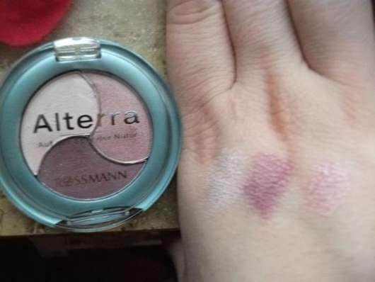 Alterra Trio Eyeshadow, Farb-Nr.: 02 Shiny Violet
