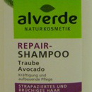 "alverde Repair-Shampoo ""Traube Avocado"""