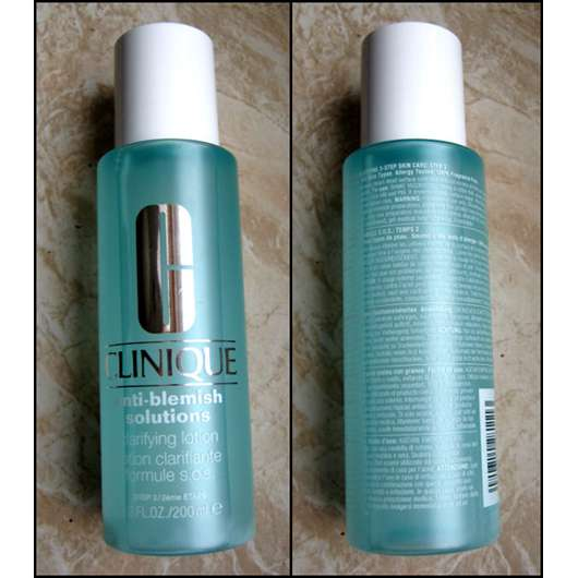 Clinique Anti-Blemish Solutions Clarifying Lotion