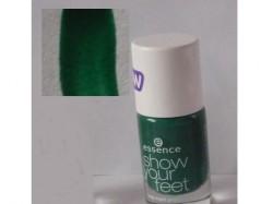 Produktbild zu essence show your feet toe nail polish – Farbe: 10 into the jungle