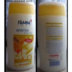 Produktbild zu ISANA Winter Dusche White Chocolate & Honey (LE)