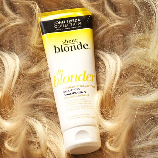 "John Frieda Collection Sheer Blonde ""go blonder"" Farbaufhellendes Shampoo"