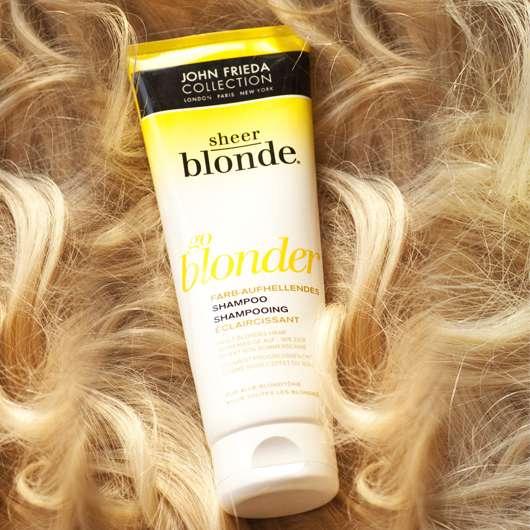 "John Frieda Collection Sheer Blonde ""go blonder"" Farbaufhellendes Shampoo"