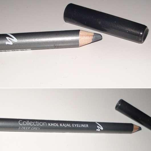 Manhattan Collection #2 Khol Kajal Eyeliner, Farbe: 3 Deep Grey