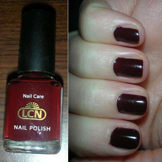 LCN Nail Polish, Farbe: Dunkelrot