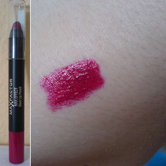 Max Factor Max Effect Giant Lip Pencil, Farbe: Passionate Red 03
