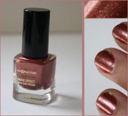 Produktbild zu Max Factor Max Effect Mini Nail Polish – Farbe: 03 Red Bronze