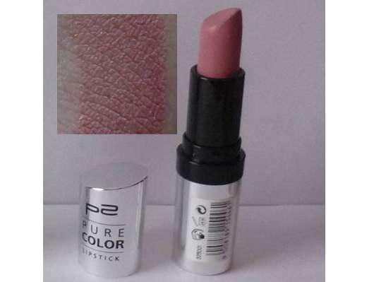 test lippenstift p2 pure color lipstick farbe 020. Black Bedroom Furniture Sets. Home Design Ideas
