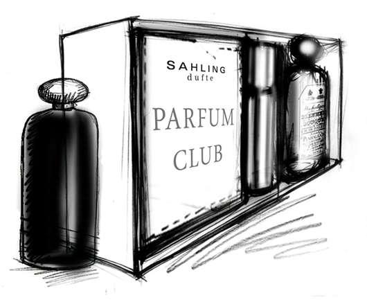 """""""SAHLING düfte""""  gründet den PARFUM CLUB"""