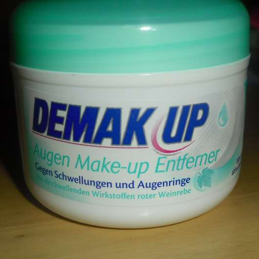 DEMAK UP Augen Make-up Entferner Pads