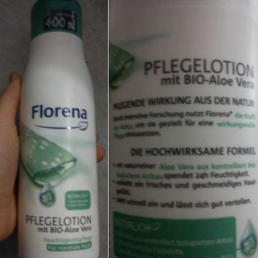 Florena Pflegelotion mit Bio-Aloe Vera