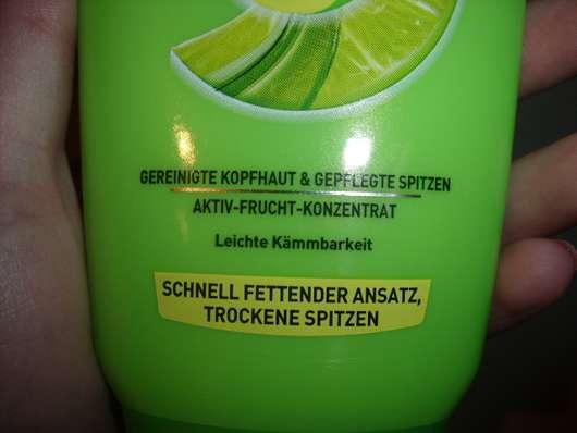Test Spülung Garnier Fructis Kräftigende Creme Spülung Schnell