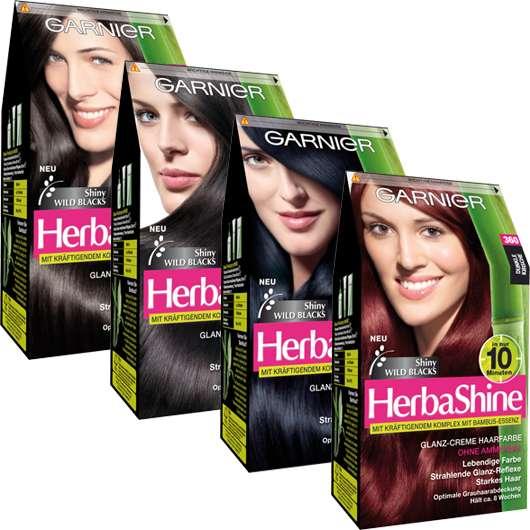 "Garnier HerbaShine ""Shiny Wild Blacks"" Kollektion"