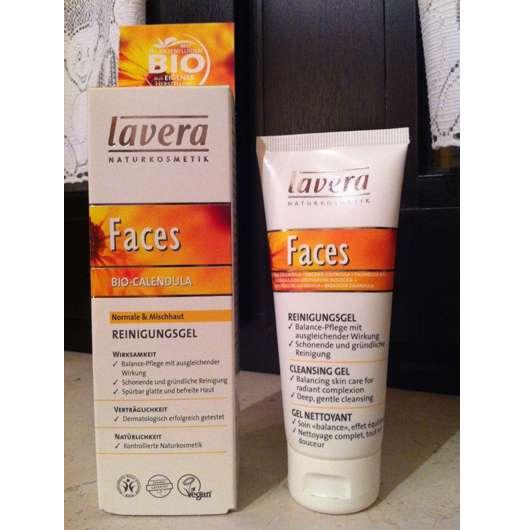 lavera Faces Bio-Calendula Reinigungsgel (normale & Mischhaut)