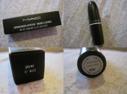 Produktbild zu M·A·C Cremesheen Lipstick – Farbe: Creme D' Nude