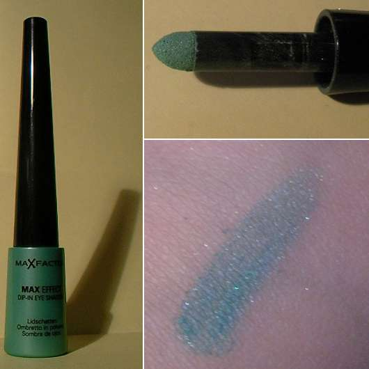 Max Factor Max Effect Dip-In-Eye-Shadow, Farbe: 07 Vibrant Turquoise
