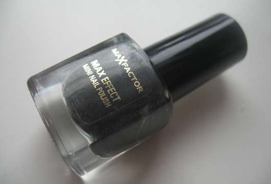 Max Factor MAX Effect Mini Nail Polish, Farbe: 19 Deep Grey