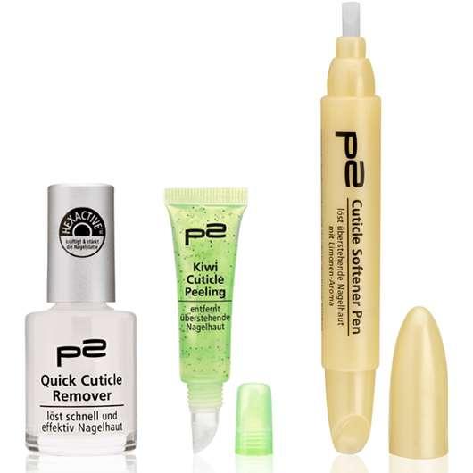 Neue Nagelpflege-Produkte von p2 cosmetics