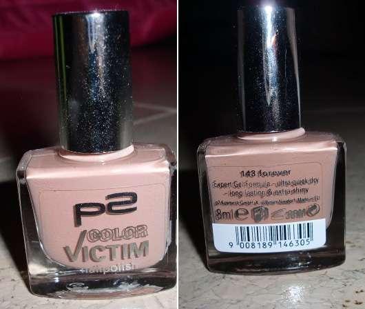 p2 color victim nailpolish, Farbe: 143 forever