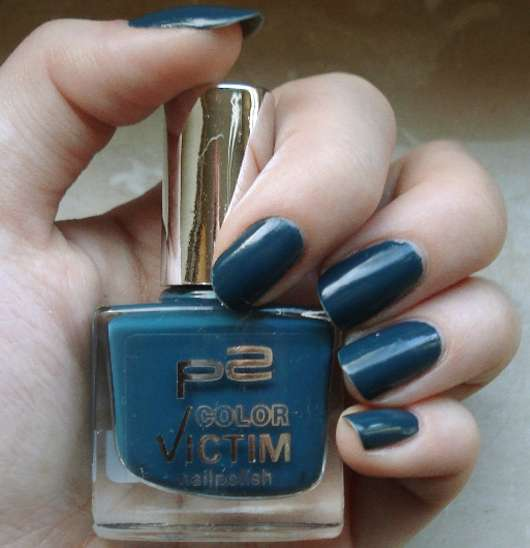 p2 color victim nailpolish, Farbe: 249 dangerous