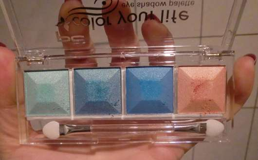 p2 color your life eye shadow palette, Farbe: 070 midnight affair