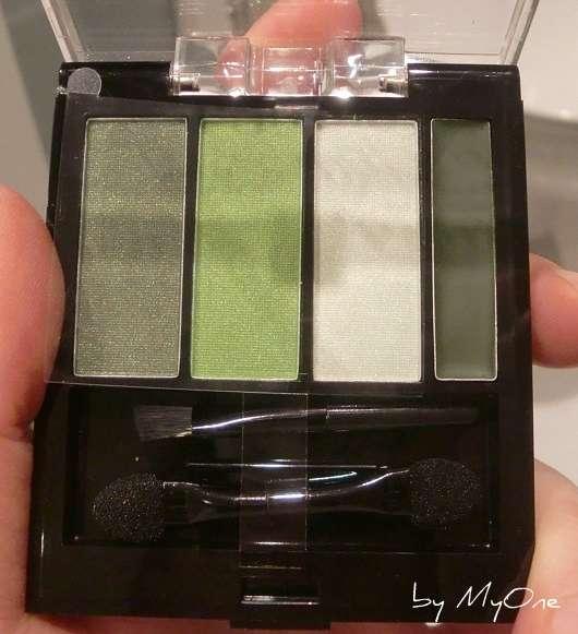 p2 Lidschatten mit Creme Eyeliner, Farbe: 020 Cheerful Green (aus der Make Up Parade LE)
