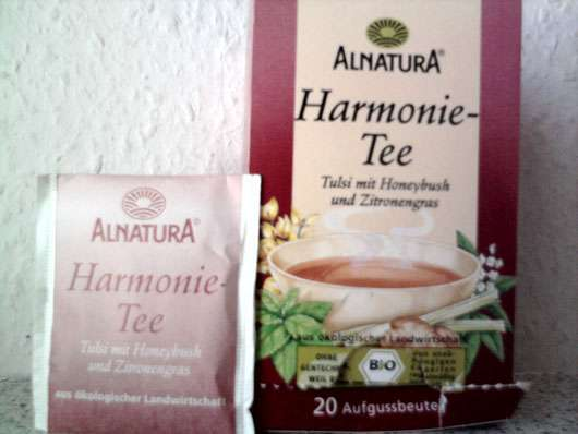Test Wellness Tee Alnatura Harmonie Tee Testbericht Von