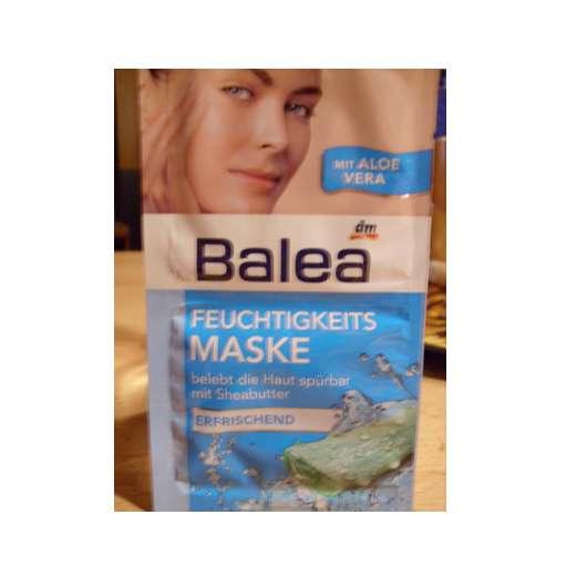 test maske balea feuchtigkeits maske testbericht von steffisbuntewelt. Black Bedroom Furniture Sets. Home Design Ideas