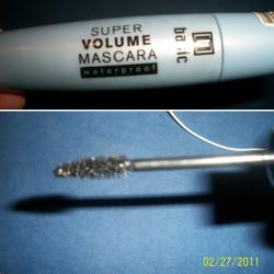 Produktbild zu basic Super Volume Mascara Waterproof – Farbe: Black