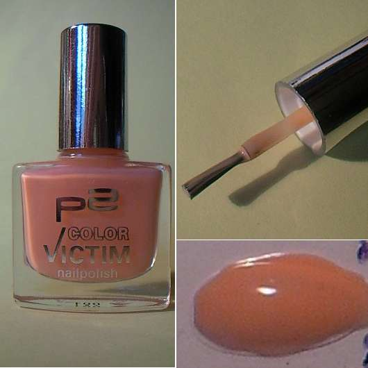 p2 color victim nailpolish, Farbe: 041 blushing bride