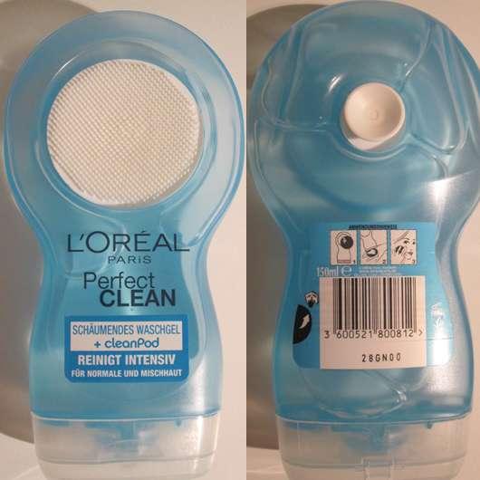 L'Oréal Paris Perfect Clean Schäumendes Waschgel + cleanPod