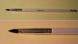 Produktbild zu ebelin Professional Lippenpinsel (weiß)