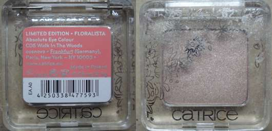Catrice Absolute Eye Colour, Farbe: C05 Walk in the Woods (Floralista LE)