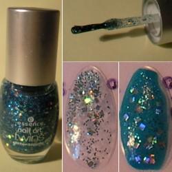 Produktbild zu essence nail art twins glitter topper – Farbe: 03 clyde