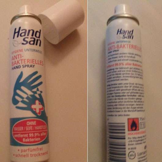 Handsan Anti-Bakterielles Hand Spray