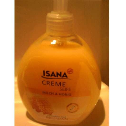 ISANA Creme-Seife Milch & Honig