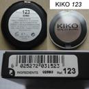 KIKO Eye Shadow, Farbe: 123 Satin Wood