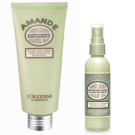 Zwei neue Mandel Körperpflege-Produkte von L'Occitane