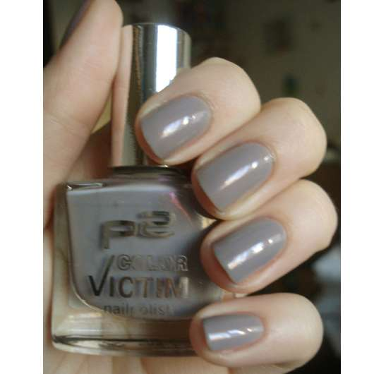 p2 color victim nailpolish, Farbe: 017 elegant